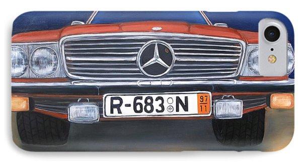 Mercedes Benz 450sl IPhone Case