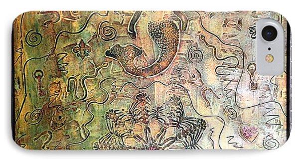 Mermaid Goddess By Alfredo Garcia IPhone Case