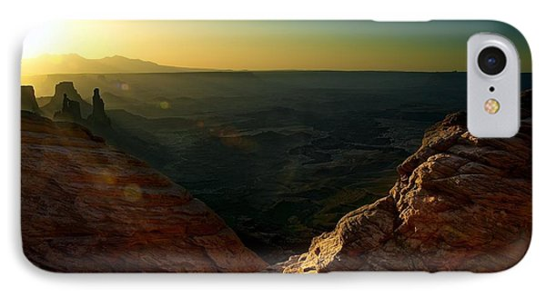 Mesa Arch Without The Arch IPhone Case