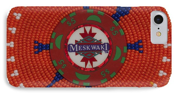 Meskwaki Orange IPhone Case