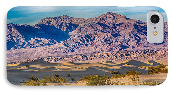 Mesquite Dunes And Mountains IPhone Case