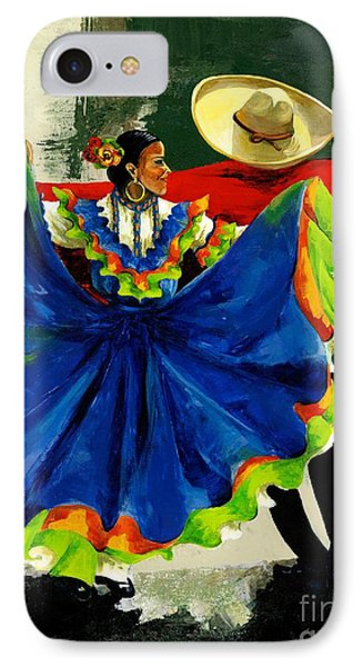 Mexican Dancers IPhone Case