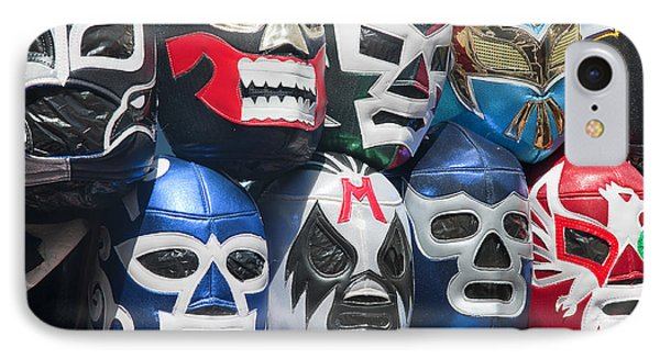 Mexican Head Masks IPhone Case