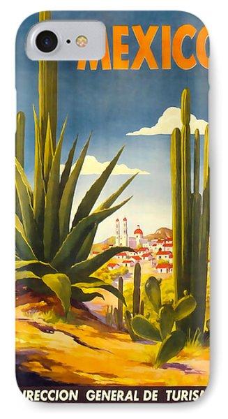 Mexico Direccion General De Turismo IPhone Case