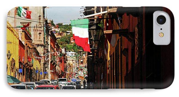 Mexico, San Miguel De Allende, Flag IPhone Case