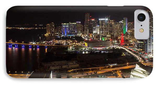 Miami After Dark II Skyline  IPhone Case
