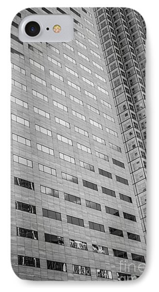 Miami Architecture Detail 1 - Black And White IPhone Case