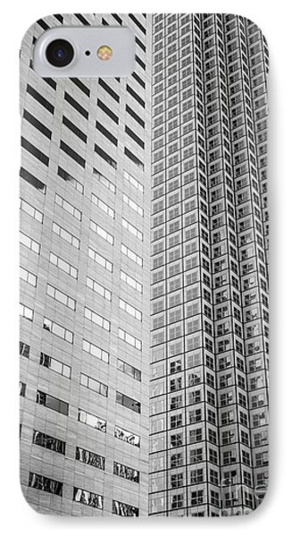 Miami Architecture Detail 2 - Black And White IPhone Case
