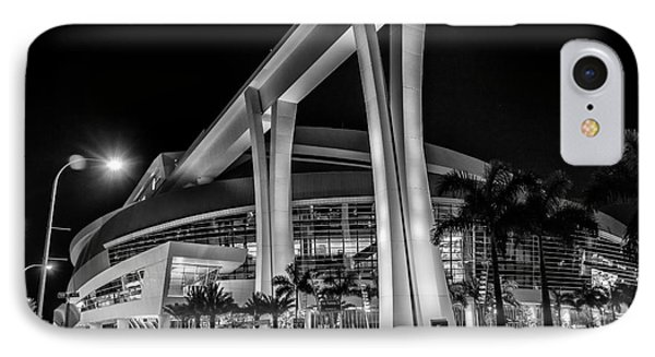 Miami Marlins Park Stadium IPhone Case