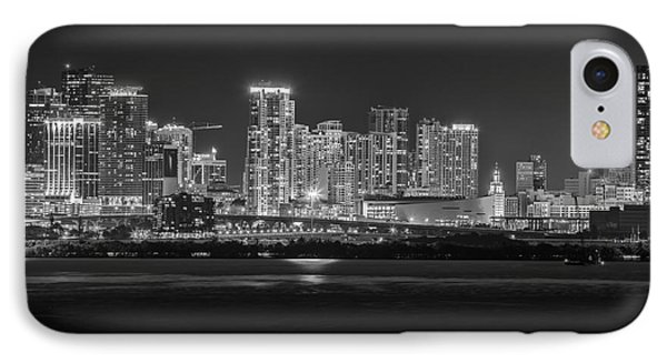 Miami On A Clear Summer Night IPhone Case