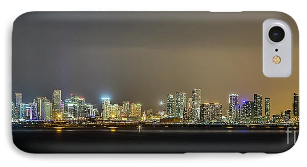 Miami Skyline View II IPhone Case