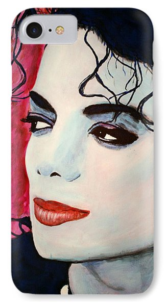 Michael Jackson Art - Full Color IPhone Case