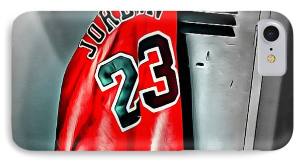 Michael Jordan 23 Shirt IPhone Case