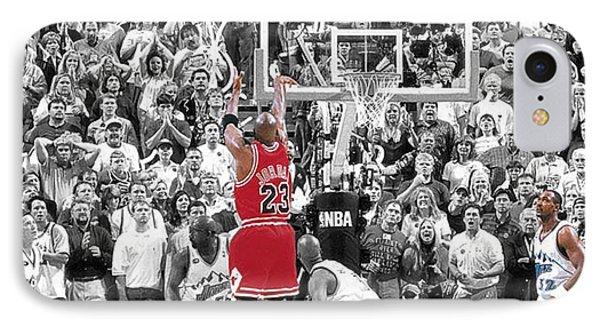 Michael Jordan Buzzer Beater IPhone Case