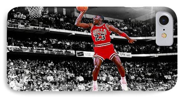Air Jordan iPhone 8 Case - Michael Jordan Slam Dunk Contest by Brian Reaves 85c4474d2