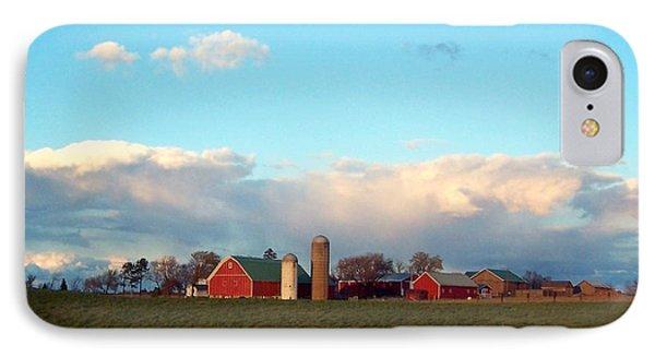 Michigan Farm IPhone Case