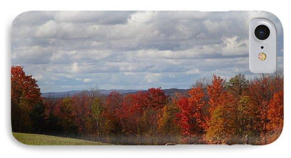 Michigan Maples In October IPhone Case