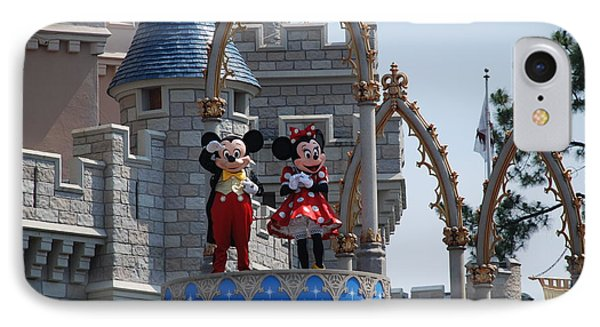 Mickey And Minnie In Living Color IPhone Case