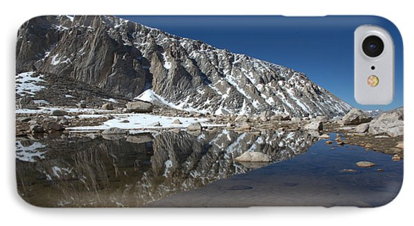 Middle Lake Reflections IPhone Case