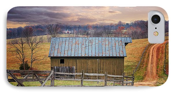 Middleburg Virginia Countryside IPhone Case