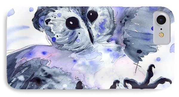 Midnight Owl IPhone Case
