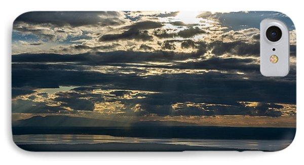 Midnight Sun Over Mount Susitna IPhone Case