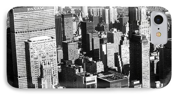 Midtown Manhattan 1972 IPhone Case