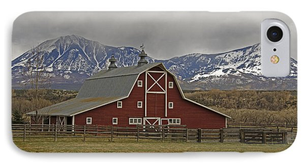 Midway Ranch Barn IPhone Case
