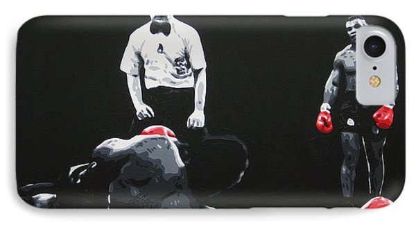 Mike Tyson 3 IPhone Case