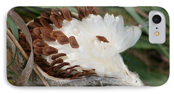 Milkweed 1 IPhone Case