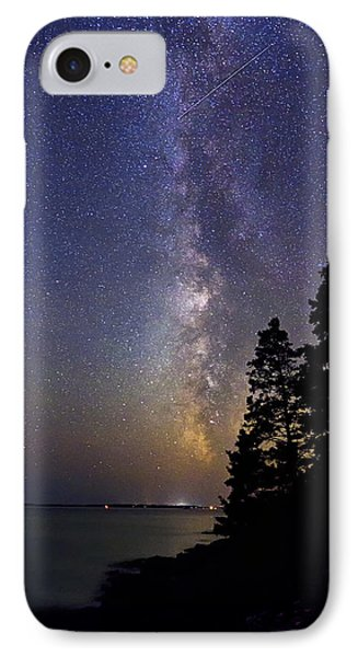 Milky Way At Acadia National Park IPhone Case
