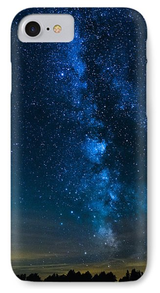Milky Way Cherry Springs IPhone Case