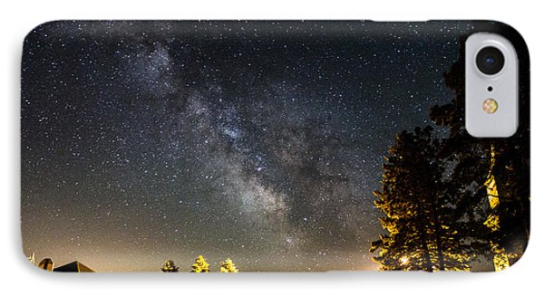 Milky Way From Oldham South Dakota Usa IPhone Case