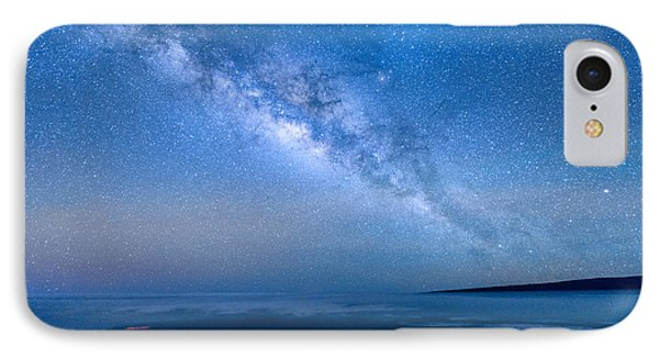 Milky Way Suspended Above Mauna Loa 1 IPhone Case