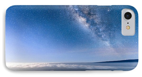 Milky Way Suspended Above Mauna Loa 2 IPhone Case