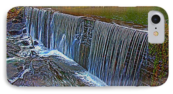 Mill Pond Spillover  IPhone Case