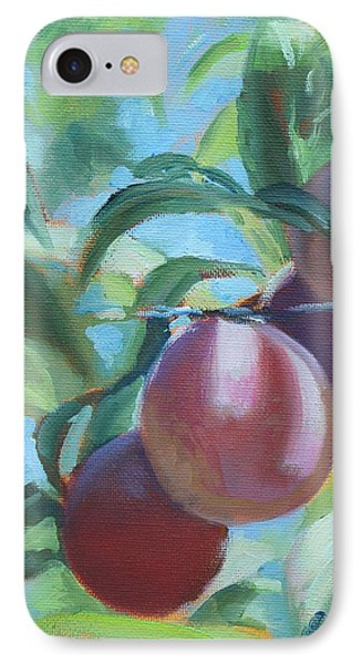Mimi's Plums IPhone Case