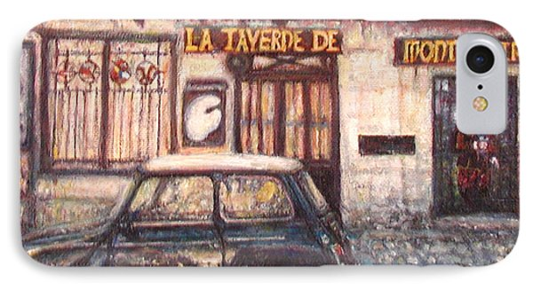 Mini De Montmartre IPhone Case