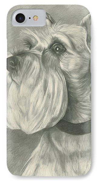 Miniature Schnauzer IPhone Case