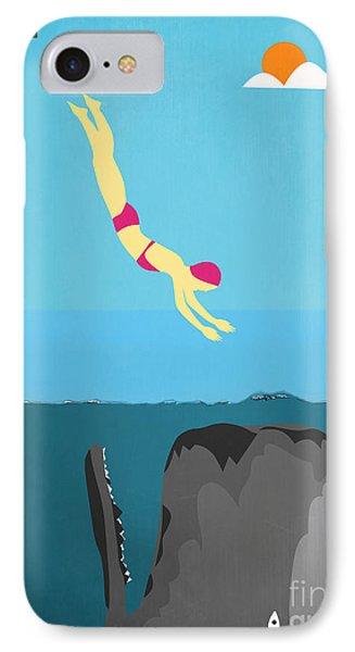 Minimal Sea Life  IPhone Case