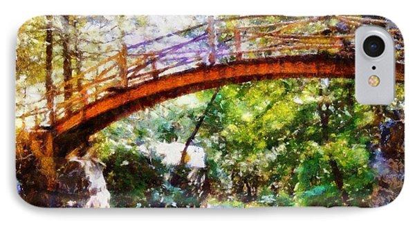 Minnewaska Wooden Bridge IPhone Case