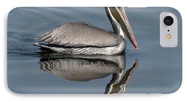 Mirror Pelican IPhone Case