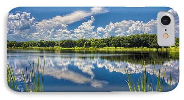 Mirrored Lake IPhone Case