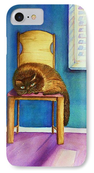 Kitty's Nap IPhone Case