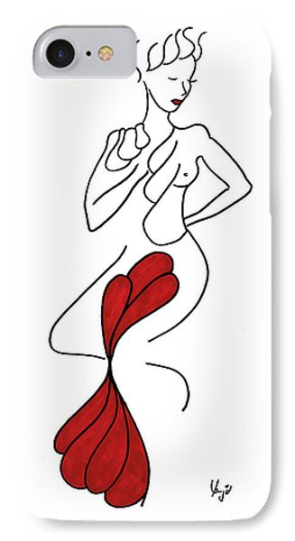 Miss Shell IPhone Case