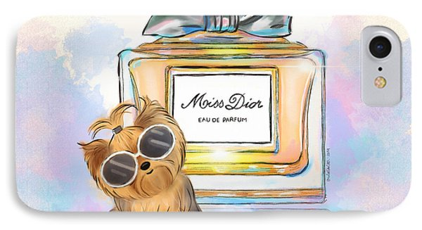 Miss Yorkie Parfum IPhone Case
