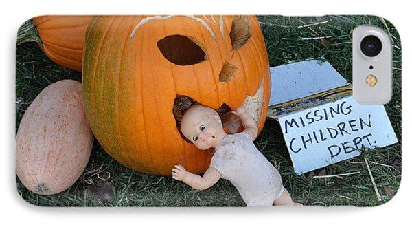 Missing Children Department IPhone Case