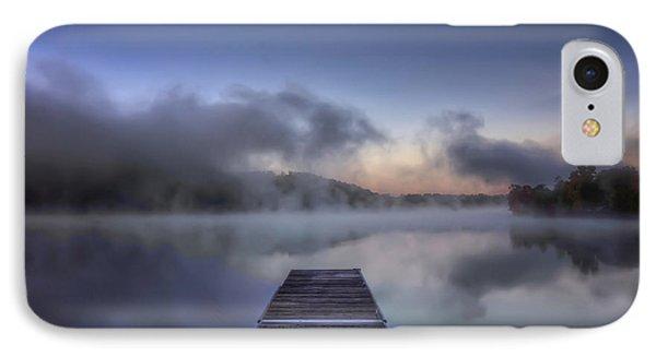 Mist At Lake Logan IPhone Case