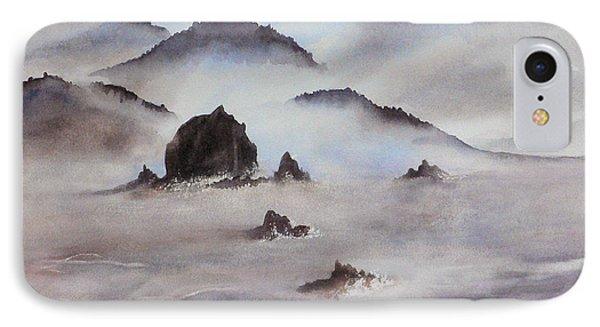 Mists Of Haystack Rock IPhone Case