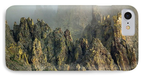 Misty Crags IPhone Case
